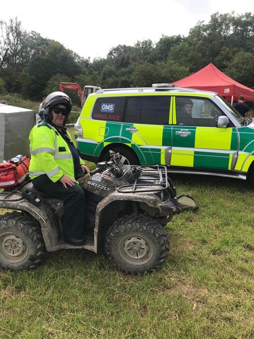Quads and ambulances event
