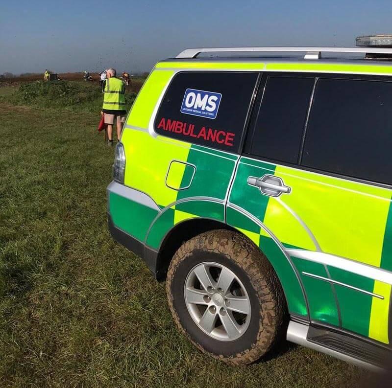 ambulance at event